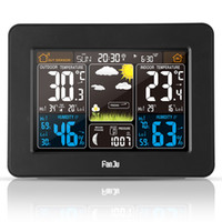 FJ3365B Digital Color Forecast Weather Station with Alert an...
