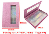 5 pairs 3D Mink Eyelash Package Boxes False Eyelashes Packag...