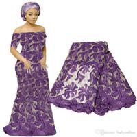 Последние французские кружевные ткани гипюры африканский кружевной Voile для свадебного вечеринка платье цветочные вышивки нигерийские кружевные материал BF0006