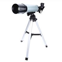 Monocular F36050 Telescópio Astronômico 360x50 Telescópio Refrator com Tripé Portátil Presentes de Exploração Brinquedos Para Crianças Adultos