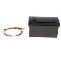 58MM 701 USB الحرارية استلام الطابعة مرحبا السرعة الطباعة USB + TTL مسلسل / RS232 الأسود
