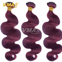 VMAE Pure Color Brazilian Virgin Human Hair Uprocessed 8A Hu...