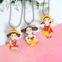 Японский аниме мультфильм ожерелье Каваи Тоторо кулон ожерелье мода день рождения Рождественский подарок колье для женщин партии пользу DBC VT0523