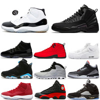 1s 5s 10s 11s 12s 13s Zapatillas de baloncesto Pine Green Court Purple Bulls Cemento Bred Concord Prom Night Westbrook Mens Sports Sneakers 7-13