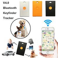 Bluetooth GPS Tracker cercatore chiave intelligente Anti-Perso Theft Locator dispositivo di allarme