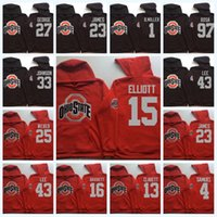 15 elliott ohio state buckeyes hoodie 97 bosa 2 carter 4 samuel 12 c.jones 16 barrett b.miller ncaa college football jersey