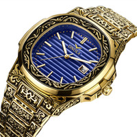 New Cross-Border esplosione modelli moda Classic Retro Mens Watch Mens acciaio impermeabile Foreign Trade Watch