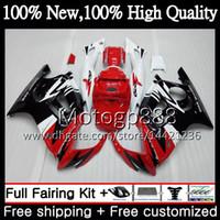 바디 레드 블랙 HONDA CBR600 F3 CBR600RR F3 CBR600FS 95 96 47PG2 CBR 600F3 FS 레드 CBR600F3 CBR 600 F3 1995 1996 페어링 차체 키트