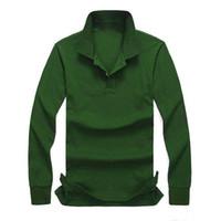 ralph lauren ralph polo chemises hommes les hommes de polo ralph nouveau mode de chemise casual POLO chemise à manches longues hommes à manches longues de haute qualité 100% coton