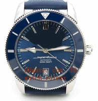 남성 유산 GF 공장 V2 Edition II B20 자동 42 블루 디아 시계 블루 ETA 2824 시계의 니 방향 고품질 세라믹 베젤