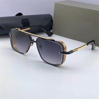 Top Global Logistics Uomo Six Women Edition Design gratuito Classic UV400 Luxury Mach Mach e occhiali da sole Stile Ultima qualità di qualità limitata IHTSP
