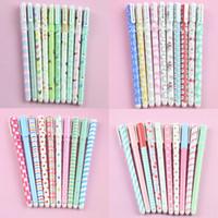 Penna a colori Gel Penne Penna Boligrafos Kawaii Canetas Simpatici articoli di cartoleria coreani