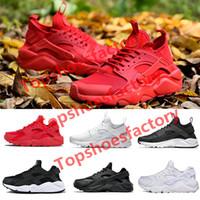 Nike air Huarache 1.0 4.0 running shoes das mulheres negras huaraches vermelho 1,0 Moda plataforma Sports Sneakers mens formadores 36-452020 Huara