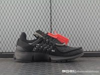 2018 Best Quality Presto 2. 0 Black AA3830- 100 Triple ALL Bla...