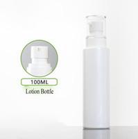 İnci Beyaz Losyon Şişe Boş, Kozmetik Cam Parfüm Şişesi 100ml
