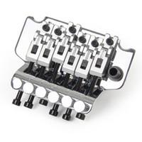 Chrome Floyd Rose Double Locking Tremolo System Bridge für E-Gitarren-Teile