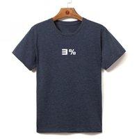 European size 2019 Men's Heat transfer Short-sleeved T-shirt Top Quality Men's tshirt men Casual t-shirts 081