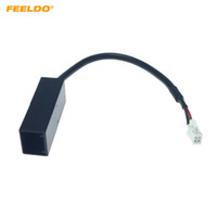 FEELDO Car Radio Audio 4Pin Разъем для USB ввода провода адаптер для Honda CRV City Mitsubishi ASX кабель USB # 6366