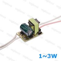 Transformateurs d'éclairage 300MA 110 220V 240V IP20 1W 2W 3W pour Downlight Ampoule Spotirlight intégré PCB EUB