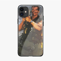 Arnold Schwarzenegger Film Commando 1985 Plakat Telefonkasten für Apple iPhone 11 PRO MAX 6 6S 7 8 Plus X XS XR Max coque