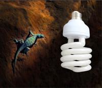 수족관 조명 자외선 전구 E27 5.0 10.0 UVB 13W / 26W Tortoise 물고기 양서류를위한 PET 파충류 광선 램프 일광