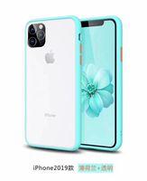 10pcs doppia chiave di colore di caso per iPhone11 Pro max XS iPhone Max XR iPhone 8 7plus 8plus 6S 6 Plus Top caso progettista