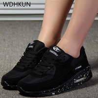 New Designer Korean White Platform Sneakers Casual Shoes Wom...