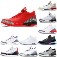أفضل نوعية الأسود النار الأحمر اسمنت كرة السلة أحذية الرجال تينكر JTH بيضاء نقية صحيح الأزرق الذئب الرمادي أحذية رياضية حجم 7-13