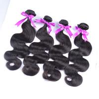 도매 이리나 아름다움 머리 원시 처리되지 않은 브라질 페루 말레이시아 인도 인간의 머리카락 확장 바디 웨이브 6pcs 많이 최고 품질의 머리 판매