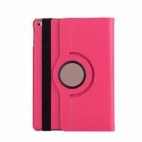 Cubierta trasera de cuero giratorio de 360 grados para iPad Mini 5 10.5 Pro 9.7 11 12.9 2019 Smart Tablet