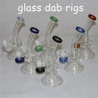 Glass Bong Dab Tubi Rig acqua quarzo Banger Perc Rosa Bong Heady MiniPipa Wax Oil Rigs Piccolo Bubbler