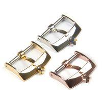 Nouveaux accessoires de montre Substituts Lux Lux boucle en acier inoxydable Boucle bracelet bracelet boucle Boucle de boucle 16mm / 18mm / 20mm en gros