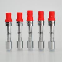 Pyrex cartucho de vidro liberdade V9 atomizador vaporizador caneta tanque bobina de cerâmica vertical por óleo espesso ajuste bateria max caneta VV pré-aquecimento inteligente