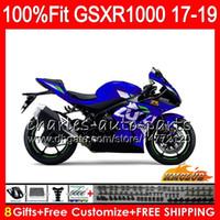 Инъекция для Suzuki GSX-R1000 L7 L8 GSXR 1000 2017 2018 2019 Light Blue Hot 17HCC.68 GSX R1000 K17 GSXR-1000 GSXR1000 17 18 19 Обсуждение
