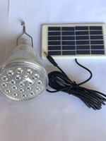 Nuova lampada solare per la lampadina esterno lampada di emergenza 20LED gancio lampadario ricarica lampada funzionante luci principali solare illuminazione esterna led