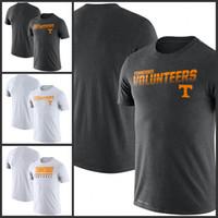 Los voluntarios de la línea lateral Tennessee Leyenda Rendimiento camisetas de manga corta impresa O-Cuello T Escuela de Fútbol Los deportes de equipo camisetas