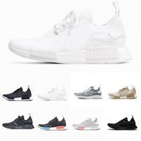 (With Box) 2018 R1 Shoes Mens shoes OG NMD shoes Japan Tripl...