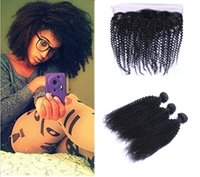 Brazilian Kinky Curl with 13x4 Lace Frontal Ear to Ear Full ...