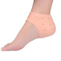 Silicone Foot Care Tool Gel Hydratant Talon Chaussettes Craquelé Soins De La Peau Protecteur Pédicure Moniteurs De Santé Massager LX7904