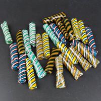 Pontas de filtro de vidro peruca grossa para os papéis de rolamento crus do tabaco da erva seca com tubulações de fumo do vidro do cigarro do tabaco