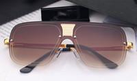 Büyük çerçeveli kare metal geçiş rengi yürüyüş gösterisi Avrupa ve Amerikan eğilim güneş gözlüğü 5 renk altın gümüş fra güneş gözlüğü gözlük