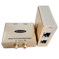 Hi- Fi Audio Receiver Extender stereo Audio RJ45 Output Recei...