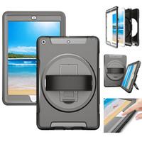 헤비 듀티 견고한 Shockproof 케이스 하이브리드 3 층 갑옷 전신 보호 커버 iPad 9.7 10.2 10.5 에어 프로 미니