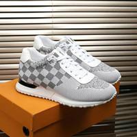 2020 Diseñador zapatilla de deporte de los hombres de la plataforma Formadores tela es transpirable gamuza luminosa de gran tamaño Sole zapatos de lujo zapatos casuales para hombre Entrenadores grandes
