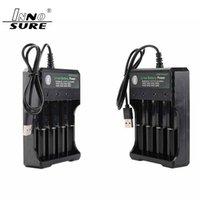Высокое качество литиевая батарея зарядное устройство с USB кабелем 4 зарядные слоты 18650 26650 18490 аккумуляторные батареи зарядное устройство лучше Nitecore