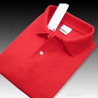 Yeni Marka Büyük küçük At timsah nakış Polo Gömlek Erkekler Kısa Kollu Casual Gömlek İnsanın Katı Polo Tişört Camisa