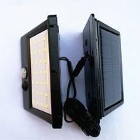 Jardin Solar Power Smart Motion Sensor Wall Light 20 LED 30 LED Energy Saving étanche réverbères extérieur Chemin lampe de sécurité DH1185 T03