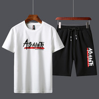 Men' s Tracksuit Summer Clothes Sportswear Two Piece Set...