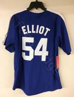 Herr Baseball Jack Elliot Chunichi Dragons Film Baseball Jersey Herren Genähte Trikots Shirts Größe S-XXXL Freies Verschiffen