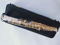 Nuovo Diritto sassofono arrivo Yanagisawa S-992 suonare professionalmente Giappone Sassofono soprano argentato strumento BB Musica